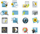 Vector photography icons. Part 5 — Stock Vector