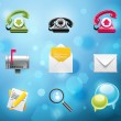 Applications and services icons — Stockvektor