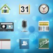 Royalty-Free Stock Vector Image: Applications and services icons