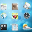 Stock Vector: Applications and services icons