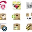 Vector shopping icon set and elements. Part 5 — Stock Vector