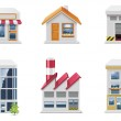 Vector real estate icons. Part 1 — Stock Vector