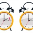 Vector de stock : Vector daylight saving time