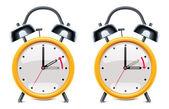 Vektör yaz saati — Stok Vektör