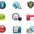 Vector internet and network icons. Part 2 — Stock Vector