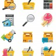 Vector e-commerce icon set — Stock Vector #9241527