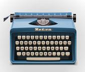 Vektor skrivmaskin xxl icon — Stockvektor