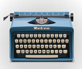 Vector typewriter XXL icon — Stock Vector