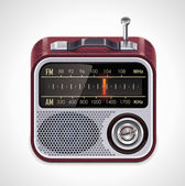 Vector radio XXL icon — Stock Vector