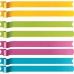Vector long ribbons — Stock Vector