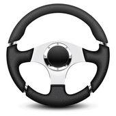 Steering wheel icon — Stock Vector