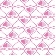 The background made from hearts. Veсtor — Stock Vector
