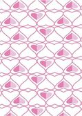 The background made from hearts. Veсtor — Vector de stock