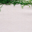 Stock Photo: Natural homespun fabric
