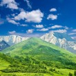 Stock Photo: High mountain landscape