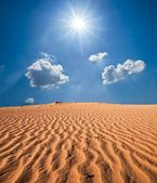 Red sand desert — Stock Photo