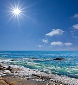 Sommer Meer Szene — Stockfoto