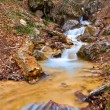 Small river in a canyon — Stock Photo
