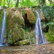 Small water cascade — Stock Photo