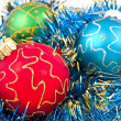 Stock Photo: Varicoloured ball as holiday background