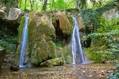 Small water cascade — Foto Stock