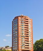 美丽的红色建筑 — 图库照片
