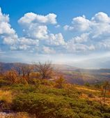 Autumn mountain landscape — Stock Photo