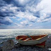 Boat on a sea — Stock Photo