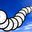 Stock Photo: Time is passing