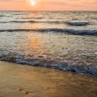 Sea at the sunset — Stock Photo