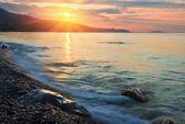 Sea at the morning — Stock Photo
