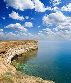 Emerald sea bay — Stock Photo