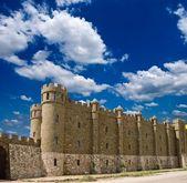 Vackra medeltida slott — Stockfoto