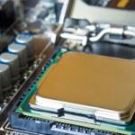 Closeup central processor unit — Stock Photo