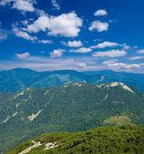 山山脊下云 — 图库照片