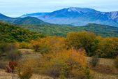 Autumn mountains landscape — Stock Photo