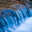 Stock Photo: Long closeup water cascade