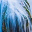 Majestic closeup waterfall — Stock Photo