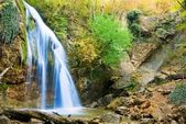 Beautiful high waterfall — Stock Photo