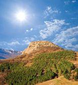 Sama hora pod sluncem jiskra — Stock fotografie