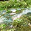 Stock Photo: Swift stream of water