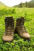 Tourist boots — Stock Photo