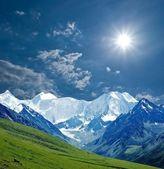 пейзаж горы — Стоковое фото