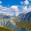 Yarlu valley altai russia - Stock Photo