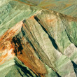 Stock Photo: Close-up mountains backbone