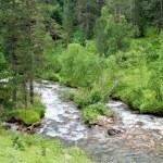Mountain river — Stock Photo #8171207