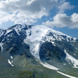 Foto de Stock  : Glacier in a mountains