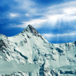 Great mountains — Stock Photo