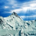 Great mountains — Stock Photo #8171908