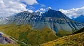 Altai mountain ridge — Stock Photo